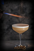 A Rum Sour Chocolate cocktail
