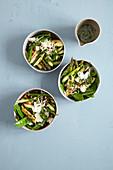 green vegetable salad