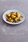 Vegetarian vegetables and quinoa tagine