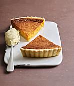 Amerikanischer Pumpkin Pie