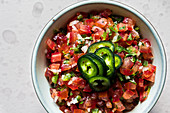 Pico de gallo from Mexico