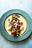 Tacos Carnitas aus Mexiko