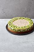 Kiwi oil-sponge cake