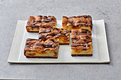 Mandarinen-Streuselkuchen aus Wunderteig