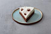 A chestnut oil-sponge cake
