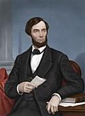 Abraham Lincoln, US president