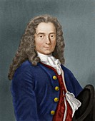 Voltaire, French philosopher