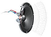 Loudspeaker mechanism, illustration