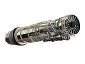 General Electric F110-400 jet engine, illustration
