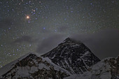 Aldebaran over Mount Everest