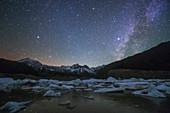 Milky Way over Laigu Glacier