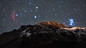 Tibetan skyscape