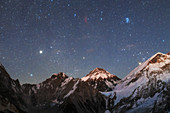 Himalayan night sky