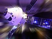Orion Spacecraft with ESA Service Module