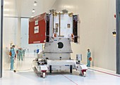 BepiColombo spacecraft integration before launch