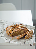 Homemade rye bread without wheat