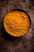 Turmeric Powder in a Bowl