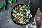 Pho Bo with radish noodles (Vietnam)
