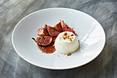 Figs with Panna cotta
