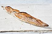 A wholemeal baguette