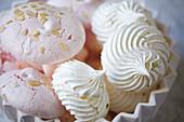 Assorted meringues