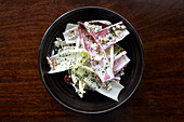 Chicory and Radicchio salad