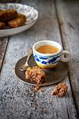 Kaffee mit Shortbread