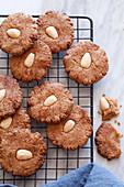 Glutenfreie Mandel-Orangen-Kekse