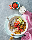 Better-for-you toasted muesli