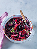 Roasted baby beetroots with balsamic