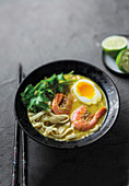 Singaporean katong laksa