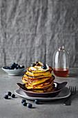 Gluten-free ricotta and pumpkin pancakes