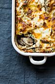 American Jerusalem artichoke lasagne