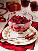 Christmas Cranberry relish