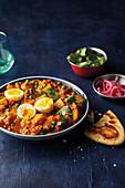 Potatoe and egg curry