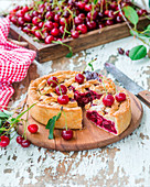 Cherry Pie, angeschnitten