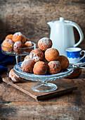Deep fried donut holes