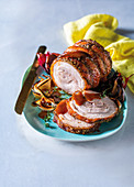 Classic rolled pork belly