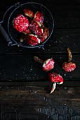 Ginger cookies mushroom