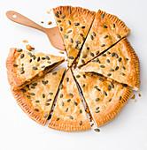 Rindfleisch-Pflaumen-Pie