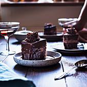Amandine (Schokoladenkuchen, Rumänien)