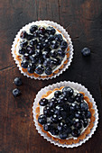 Blueberry tartlets