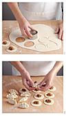 Tortelli cremaschi (Nudeltäschchen mit süss-salziger Füllung, Italien) herstellen
