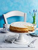 New York Vanilla Cheesecake