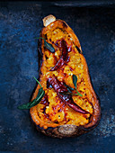 Butternut Squash with Daal stuffing
