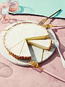Torta di ricotta (Ricotta cake, Italy)