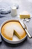 Hot Milk Cake (Biskuitkuchen, USA)