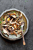 Sautéed mushrooms