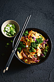 17-minute chow mein with hokkien noodles