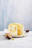 Ananas-Lemoncurd-Torte